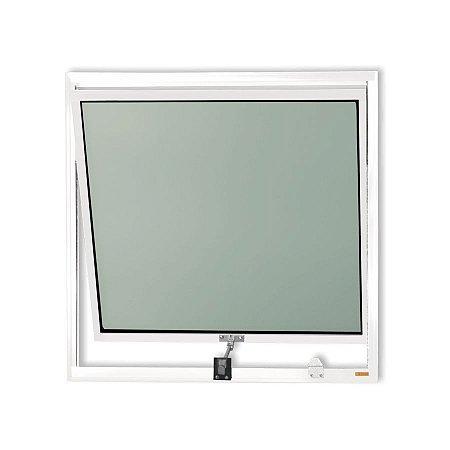 Maxim-Ar 1 Seção em Alumínio Branco c/ Vidro Mini Boreal - Brimak Plus