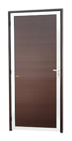 Porta Lambril Fechada em Alumínio Mix Corten S/ Vidro - Brimak Super 25