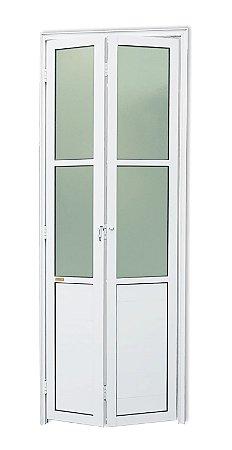 Porta Camarão em Alumínio Branco c/ Vidro Mini Boreal - Brimak L25