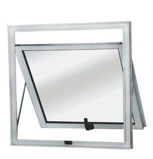 Janela Maxim-ar em Alumínio Brilhante uma Seção Vidro Mini Boreal - Linha Top Esquadrisul