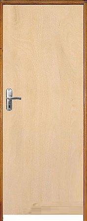 Porta Lisa Mista Comercial c/ Batente de 11 cm Misto c/ Fechadura Comum - Rick Esquadrias