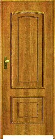Porta PSC 102/2 Padrão Imbuia c/ Batente de 14 cm Misto c/ Fechadura Taco de Golf - Rick Esquadrias