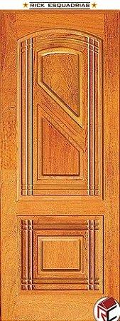 Folha de Madeira Maciça Linear Angelim 2 Lados Iguais - Rick Esquadrias
