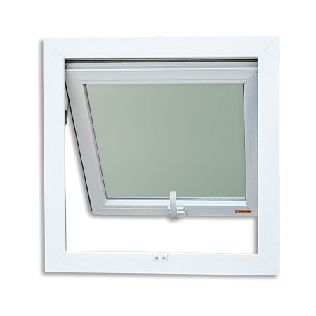 Maxim-Ar em PVC 1 Seção c/ Vidro Mini Boreal - Brimak Itec