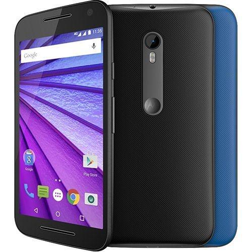 """Motorola Moto G 3ª Geração Colors Dual Chip Android 5.1 Tela HD 5"""" 16GB 4G Câmera 13MP Processador Quad Core - PRODUTO REEMBALADO"""