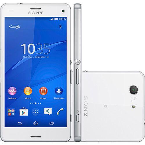 Sony Xperia Z3 Compact D5833 Android 4.4 3G/4G/WI-FI Câmera 20,7MP 16GB NFC