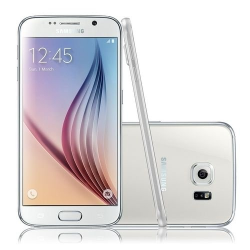 "Samsung Galaxy S6 G920I Android 5.0 Octa-Core AMOLED 5.1"" 32GB Wi-Fi 4G Câmera de 16MP - PRODUTO REEMBALADO"