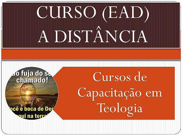 Cursos de capacitação em teologia - a partir de R$ 10,00