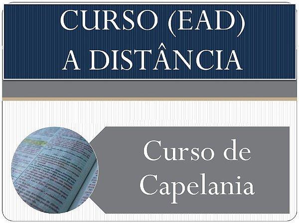 Curso de Especialização em Capelania a distância