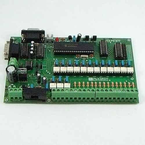 Clp Com Pic 16f877a, Programação Ladder, C, Assembly, Basic
