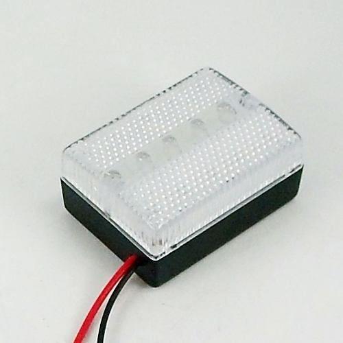 Luminária Led 12v, 20 Leds Para Iluminação De Emergência