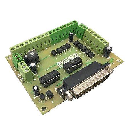 Placa Interface CNC 4 eixos