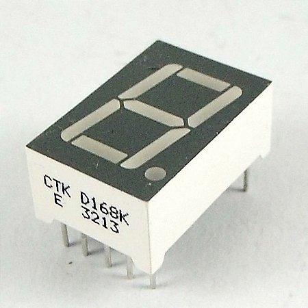 DISPLAY LED 7 SEGMENTOS CTK D168K