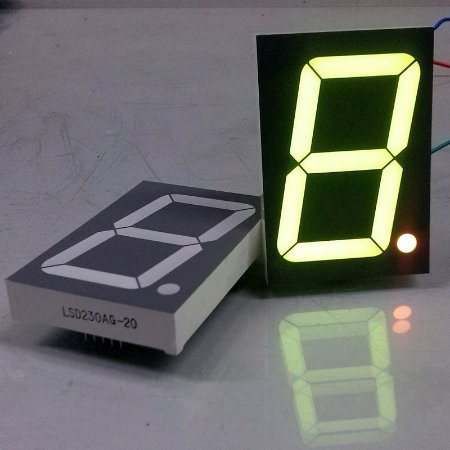 "DISPLAY LED 7 SEGMENTOS  2,3"" MOD. LSD230AG-20"