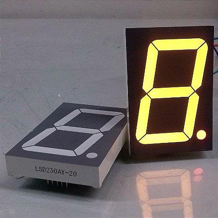 "DISPLAY LED 7 SEGMENTOS  2,3"" MOD. LSD230AY-20"