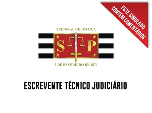 30 simulados de informática para TJ SP interior