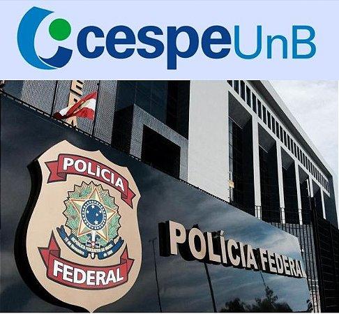 Polícia Federal - todos os cargos (pré-edital) CESPE/Cebraspe/UnB (amostra em http://gg.gg/pf2018 )