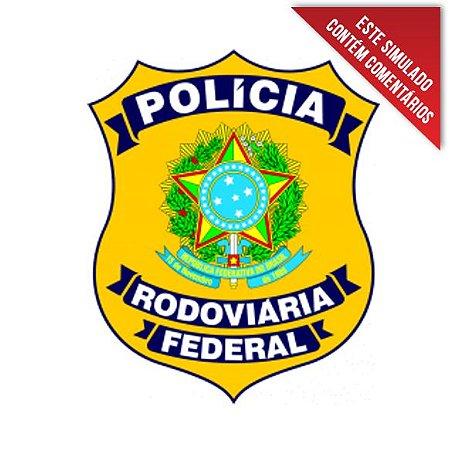 Simulados de Informática para Polícia Rodoviária Federal - 15 simulados comentados (300 questões)