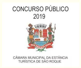 Câmara de São Roque - vários cargos - prova em 17/11/2019