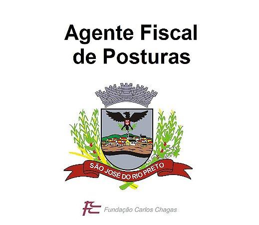 Prefeitura de São José do Rio Preto (provas em 20/10/2019) - Agente Fiscal de Posturas