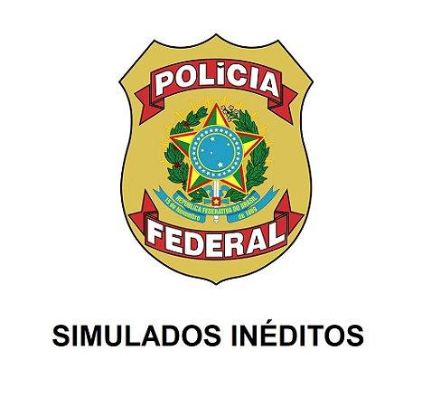 Polícia Federal - 540 questões comentadas em 15 simulados inéditos