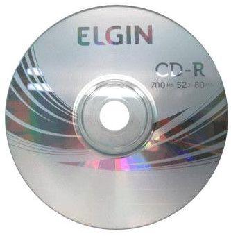 Mídia CD-R 700Mb 52x 80min Elgin