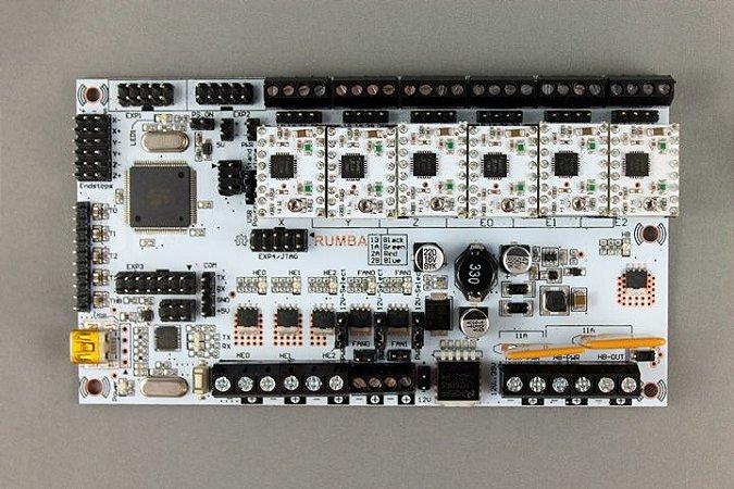 RUMBA - Controladora para impressoras 3D com 5 A4988