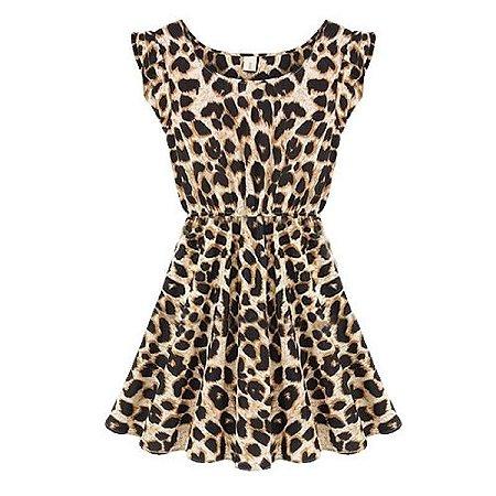 Mini Vestido Leopardo
