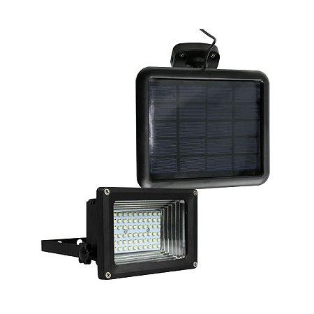 REFLETOR SOLAR 60 LEDS COM SENSOR ECOFORCE