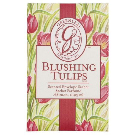 Sachê Perfumado no atacado Greenleaf - Small (Pequeno) - Blushing Tulips - CAIXA COM 30 UNIDADES