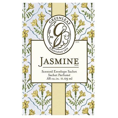 Sachê Perfumado no atacado Greenleaf - Small (Pequeno) -  Jasmine - CAIXA COM 30 UNIDADES