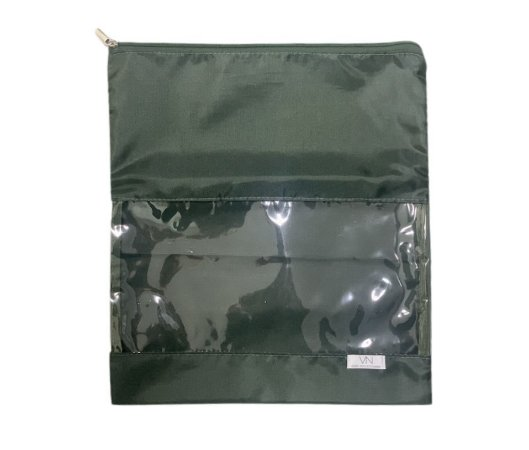 Saquinho de nylon verde militar