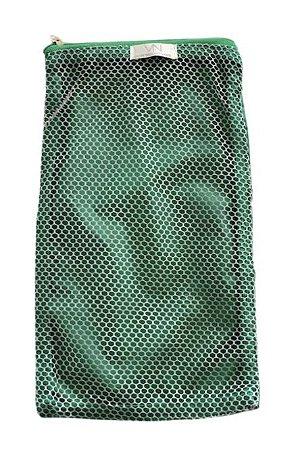 Saquinho de bolinhas de beach tennis verde