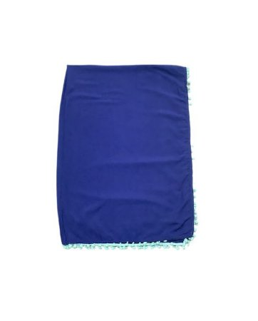 Canga azul com turquesa