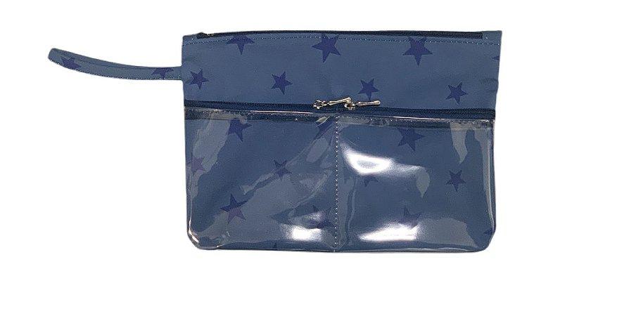 Necessaires bolsos Ju estrela azul