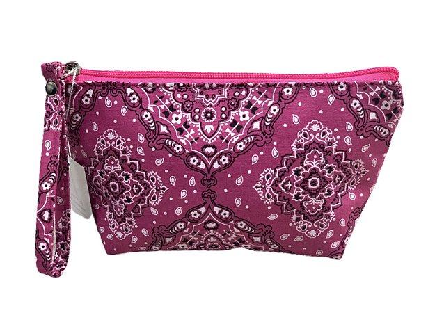 Necessaire Ale bandana rosa
