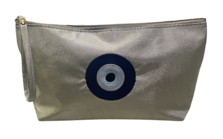 Necessaire Vertical G ouro olho grego