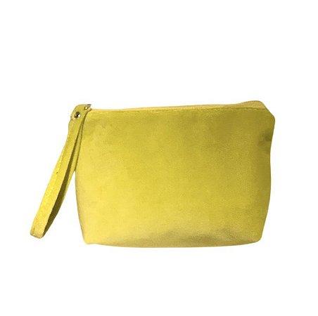 Necessaire Ale plush amarelo