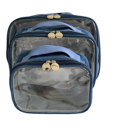 Kit Daslu plush azul