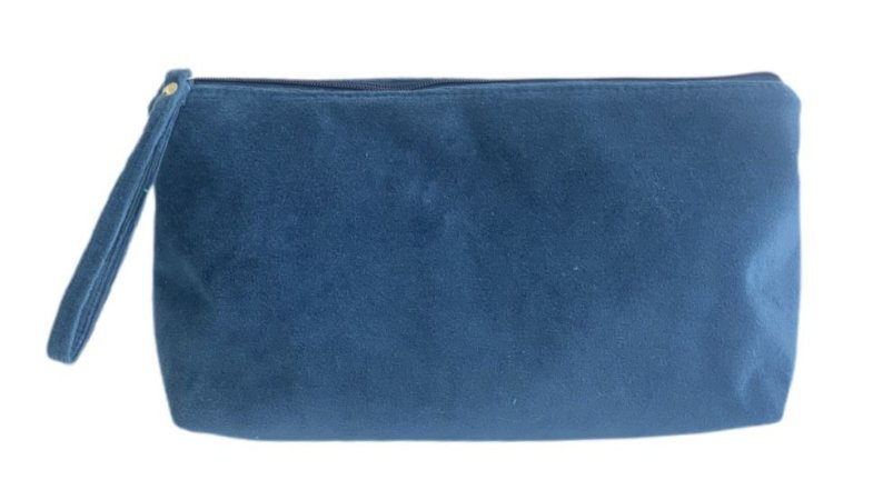 Necessaire Vertical G plush azul
