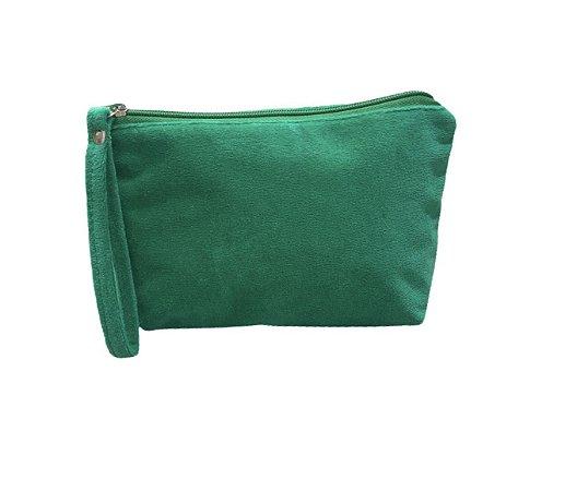 Necessaire Ale plush verde