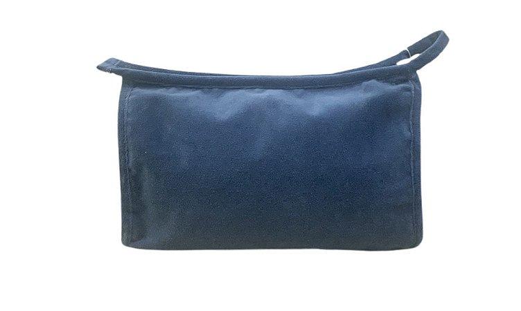 Necessaire Trancoso plush azul