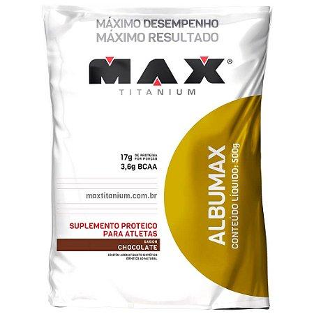 Albumina Albumax Max Titanium 500g