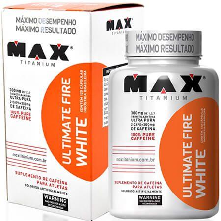 Ultimate Fire White Max Titanium 60 Capsulas