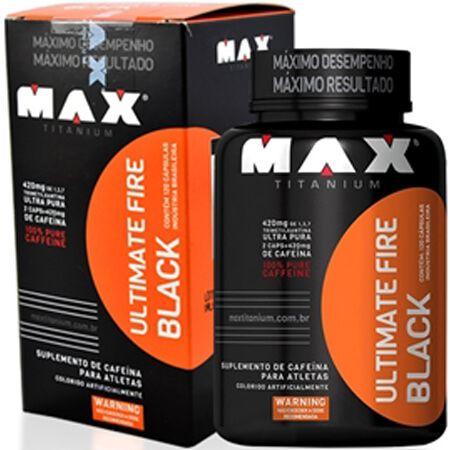 Ultimate Fire Black Max Titanium 60 Capsulas