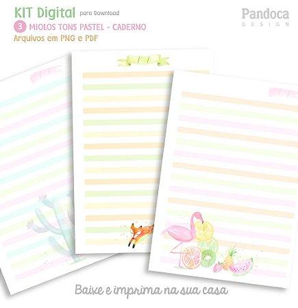 KIT DIGITAL - MIOLOS tom pastel