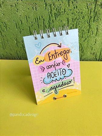 Calendário de Mesa | ENTREGO