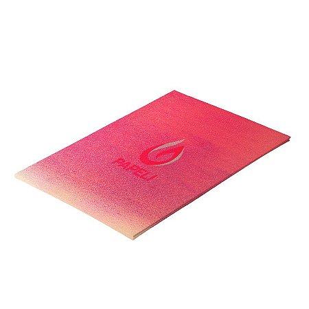 Papel Carnival Vermelho 230g pacote com 10 folhas