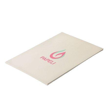 Papel Color Plus - Creme 180g - A4 - 20 Folhas (Marfim)