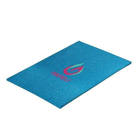 Papel Glitter Liso 90g A4 c/ 5 Folhas (Azul)
